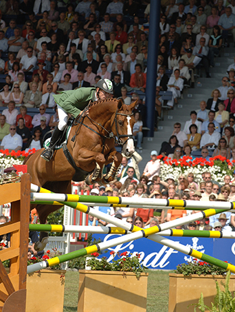 Anka and Marcus Ehning at Aachen