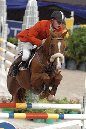 Earning money for Rene Tebbel - Farina, out of a Jet Stream mare