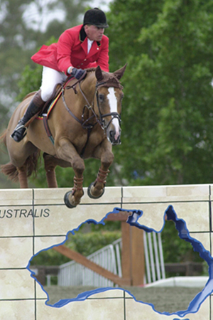 Fourth at the Sydney Olympic Games, Ludo Philippaerts and the Darco gelding, Otterongo van de Kopshoeve (out of a Hedjaz mare)
