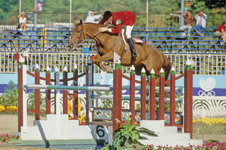 Joe Fargis and Mill Pearl were 7th at the Seoul Olympic Games, the following year, they were 4th in the World Cup final in Tampa