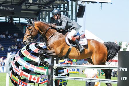 John Whitaker and Peppermill – stalwarts of the British jumping team