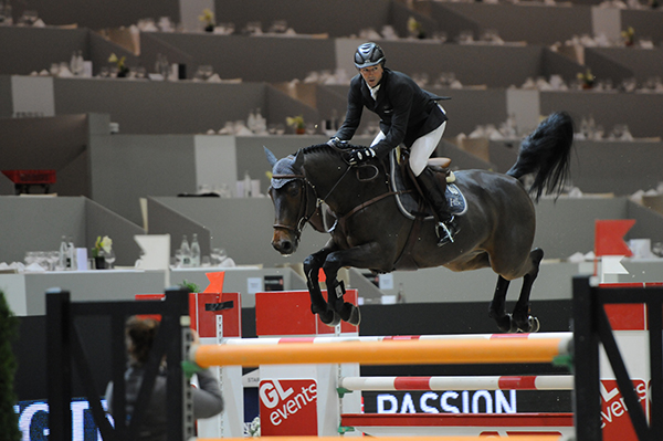 Lacrimosco and Patrice Delaveau at Equiata Lyon