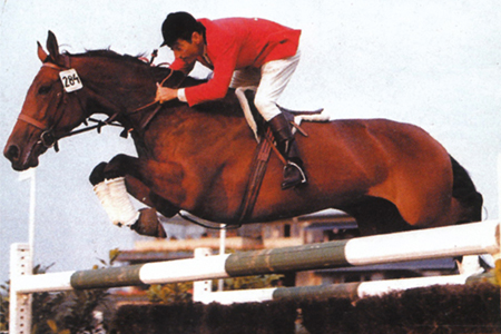 Setting the jumping world alight - Lutteur B & Pierre Jonqueres d'Oriola