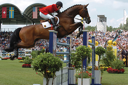 Shutterfly and Meredith Michaels-Beerbaum – top of the world for showjumping