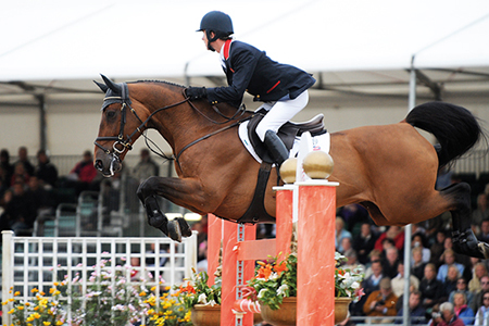 Starring in the British team, Robin Hood W(out of a Libero mare) and Ben Maher