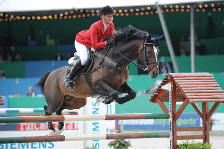 The line lives on - competing for Britain, Ellen Whitaker and Locarno by the Lord son, Lord Calidos