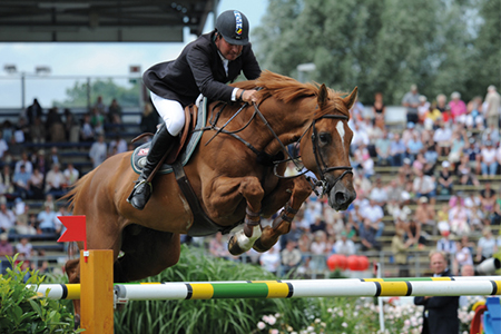 Vigo d'Arsouille and Philippe Lejeune at Aachen in 2008