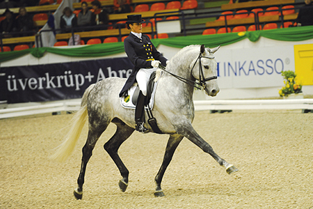 International dressage stars - Ekwador and Katazyna Milczarek