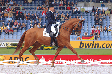 The most successful competitor by Warkant, Wansuela Suerte - competing for Germany with Hubertus Schmidt