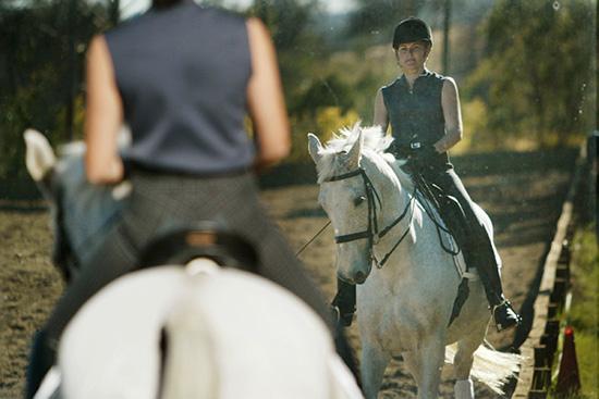 Shannon Tonkin takes a lesson with Bimbo Peilicke | The Horse Magazine