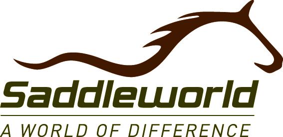 Saddleworld Logo - Tagline