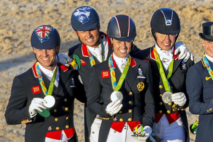 Silver Team GB, Gold Germany, Bronze USA Photo Arnd Bronkhorst